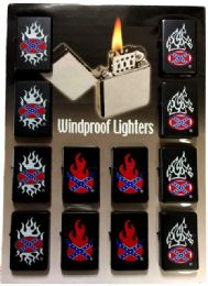 24 of Lighters Confederate Flames