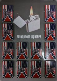 24 of Windproof Lighter Don't Tread On Me Combo Flag
