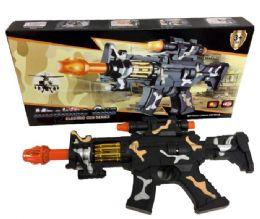 96 of Camo Light Up Toy Gun