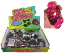 96 of Glitter Squish Ball With Putty Inside Display Box