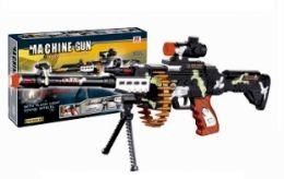 12 of Camo Machine Gun With Lights And Sound