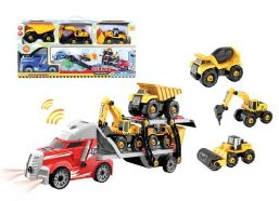 12 of TRUCK CARRIER PLAY SET WITH LIGHT AND SOUND