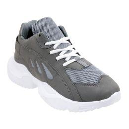 12 of Men's Casual Sneakers In Gray