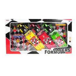 9 of Formula Racers Play Set