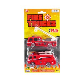36 of Fire Trucks 2 Piece Set