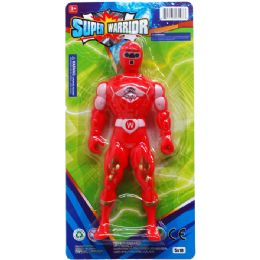 72 of Super Warrior Action Figure On Blister Card