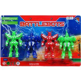 48 of 4 Piece Battle Bots Action Figure