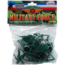 72 of Army Combat Team In Pvc Bag