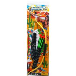 24 of BOW AND ARROW PLAY SET IN PEGABLE POLY BAG