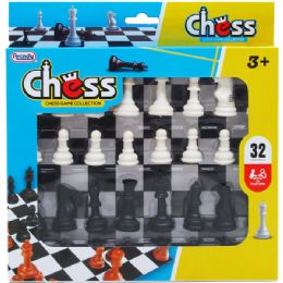 48 of Chess Play Set In Pegable Window Box