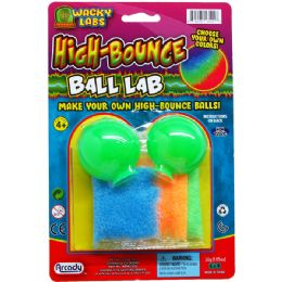 72 of High Bounce Ball Lab Kit On Blister Card