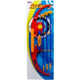 12 of Super Archery Play Set Tied On Card