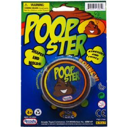 144 of POOPSTER PUTTY ON BLISTER CARD