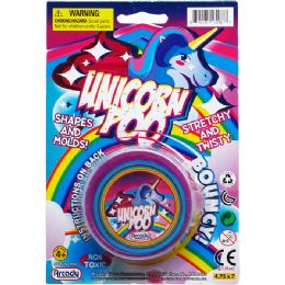 144 of UNICORN POOP PUTTY ON BLISTER CARD