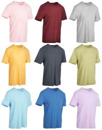 27 of Yacht & Smith Mens Assorted Color Slub T Shirt With Pocket - Size S