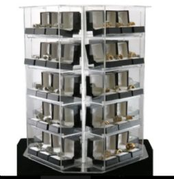 120 of Gift Box Rings Spinning Display Deal
