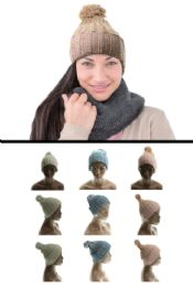 24 of Assorted Acrylic Knit Hat