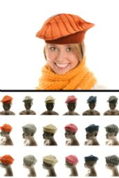 24 of Assorted Cotton Beret
