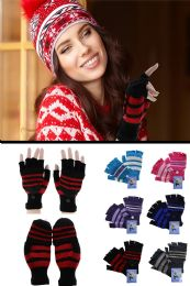 72 of Colorful Knit Convertible Mittens
