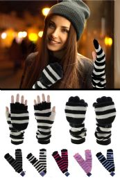 36 of Extra Long Knit Convertible Mittens