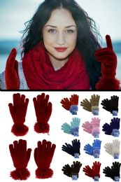 36 of Fuzzy Fashion Winter Gloves