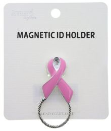 72 of Breast Cancer Awareness Magnetic ID Holder