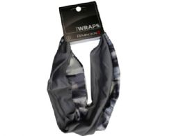 108 of 2 Count Yoga Head Wrap in Assorted Solid and Print Designs