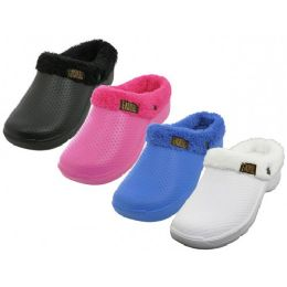 36 of Women's Cotton Terry Lining Insole Soft Clogs