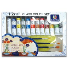 24 of Glass Color Set