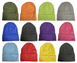 36 of Yacht & Smith Unisex Stretch Colorful Winter Warm Knit Beanie Hats, Many Colors