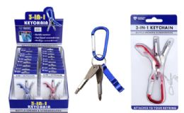 18 of 3-in-1 Bottle Opener And Screwdrivers Keychain