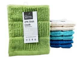 24 of Dish Cloth Checkered 2 Pack