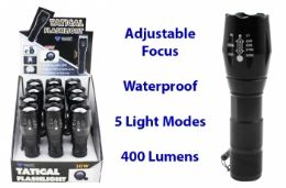 12 of Waterproof Tactical Led Flashlight