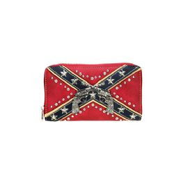 4 of Montana West Confederate Flag Collection Wallet