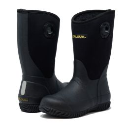 12 of KIDS PREMIUM HIGH PERFORMANCE INSULATED RAIN BOOT IN BLACK