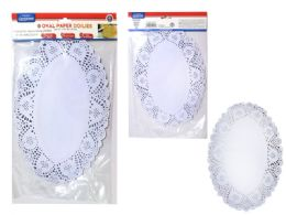 72 of Doilies Large Paper 48 Pieces