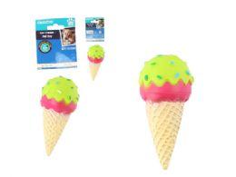 48 of Squeaky Pet Toy Ice Cream Cone