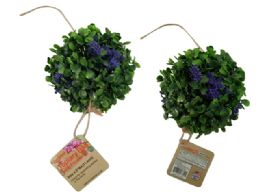 72 of Topiary Ball With Flowers