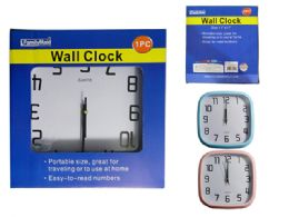 24 of Square Wall Clock