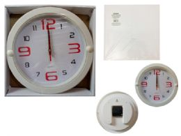 24 of Round Wall Clock In White