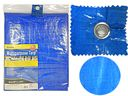 12 of Multipurpose Tarp 9ftx12ft Blue