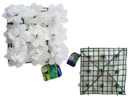 48 of Flower Mat 9 Head Flower White