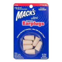 24 of Macks Soft Foam Earplugs 3 Pairs