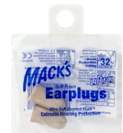 200 of Soft Earplugs Mack's Ultra Soft Earplugs
