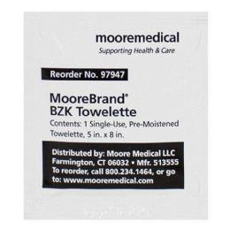 1500 of Benzalkonium Chloride Antiseptic Wipes