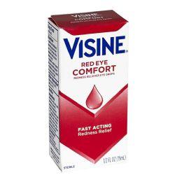 24 of Visine Red Eye Comfort Drops 0.5 oz.