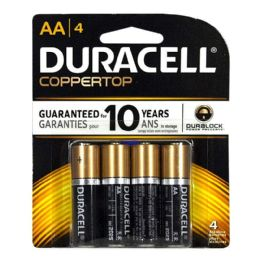 14 of Duracell Coppertop AA Card of 4