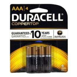 18 of Duracell Coppertop AAA Card of 4