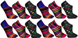 60 of Yacht & Smith Womens Cotton No Show Loafer Socks With Anti Slip Silicone Strip
