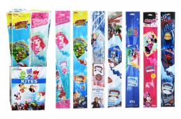 """60 of 23"""" Kite In Floor Display (licensed Characters)"""